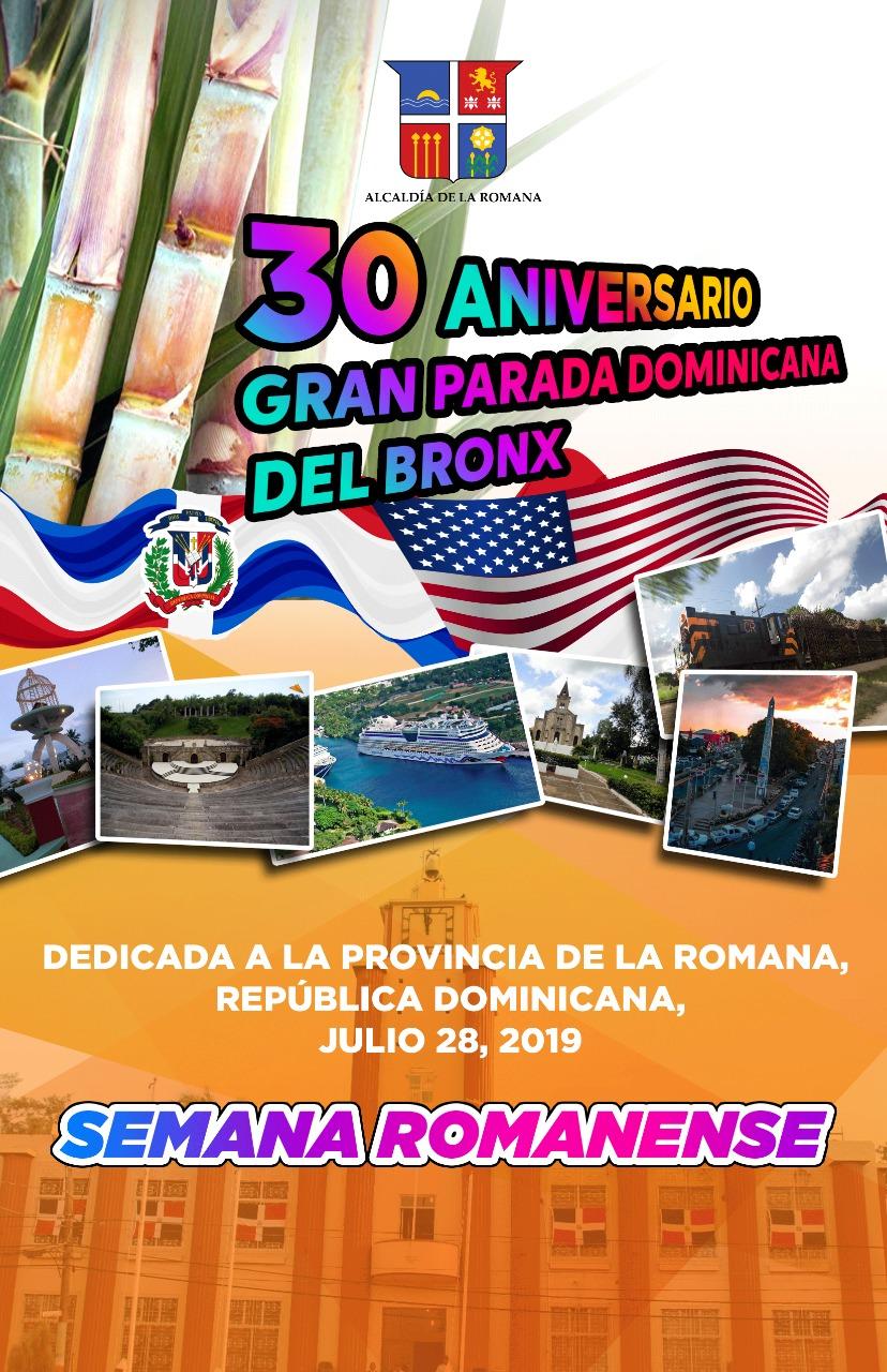 Ayuntamiento de La Romana invita  a participar  en la Gran Parada  Dominicana del Bronx