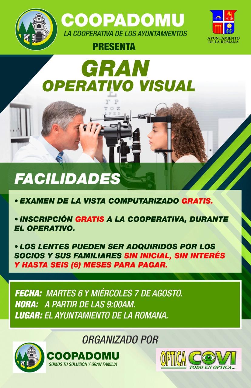 Ayuntamiento de La Romana respalda operativo visual de COOPADOMU