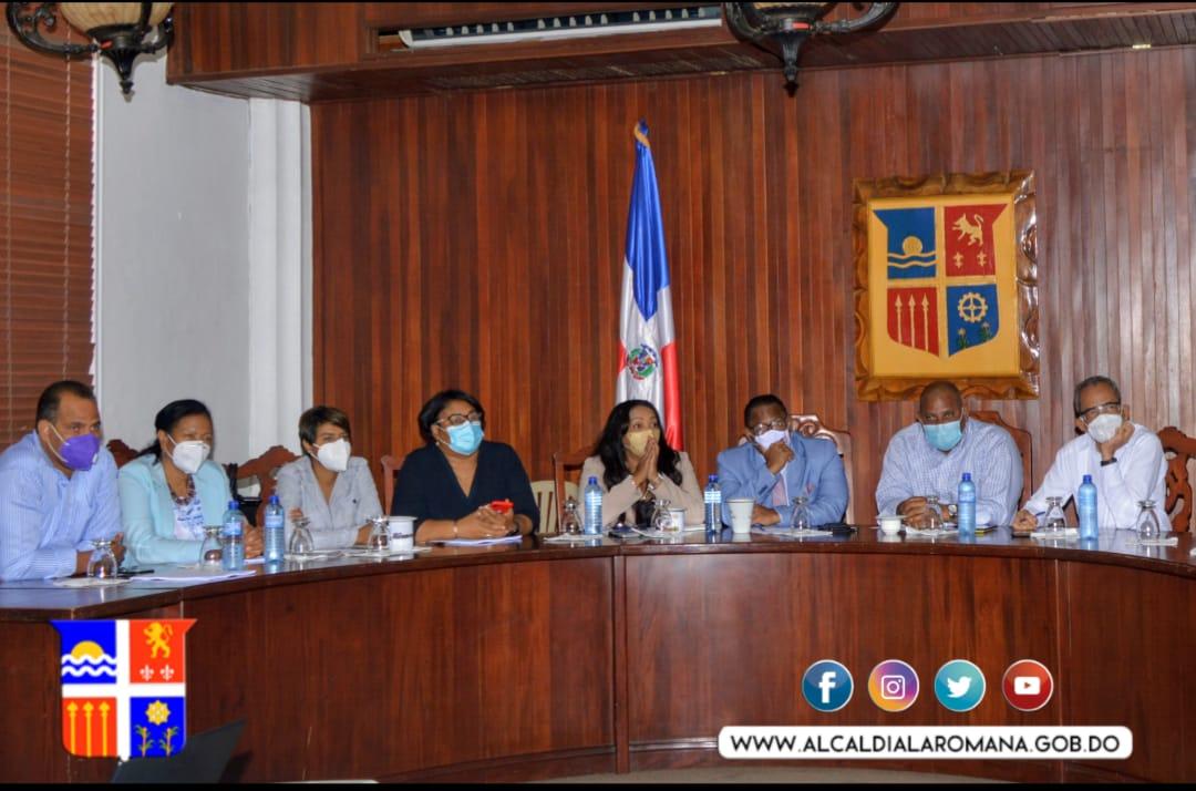 Alcaldía Municipal de La Romana fue el escenario para la elección y juramentación de la Mesa Local de Seguridad Ciudadana y Género.