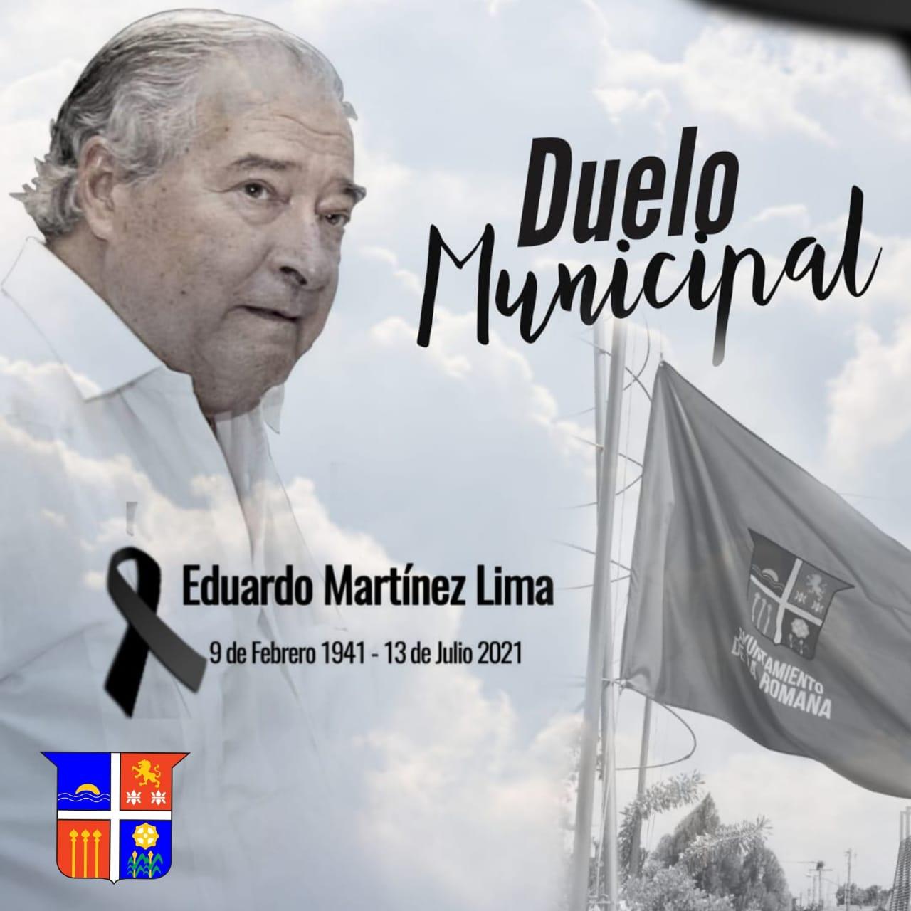 Alcaldía de La Romana, declara tres días de Duelo Municipal.