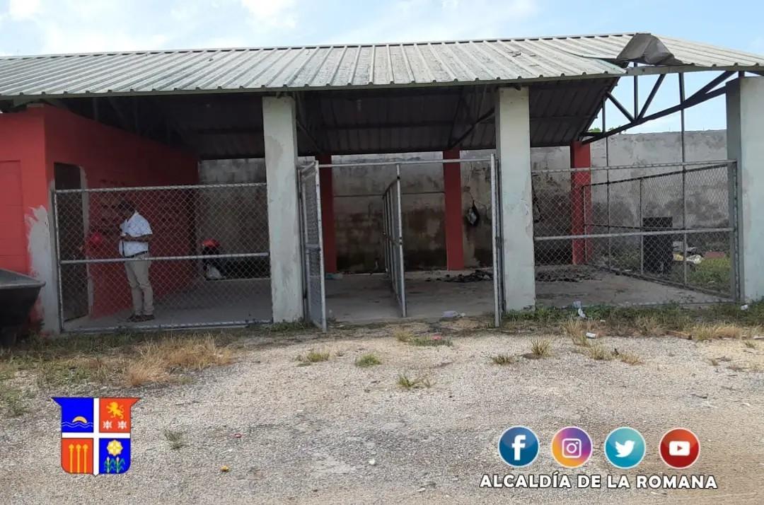 La Alcaldía de La Romana inaugura el primer Albergue Canino.