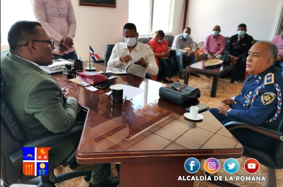Alcalde Municipal recibe Asociación Nacional de Policía Municipal.